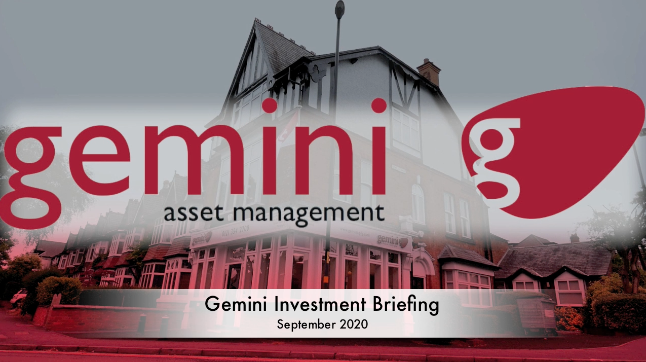 Investment Briefing September 2020